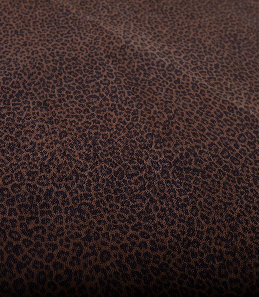 Pelle Leopardato stampa a rilievo