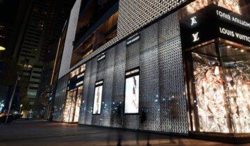 Louis Vuitton a Shangai 22 milioni in un mese